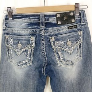 MISS ME GIRLS BOOT CUT JEANS SIZE 16